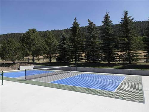 We now offer a free pickle ball court for your fun and enjoyment.