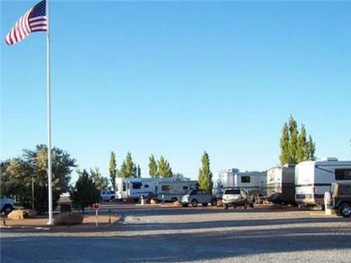 RV Park has easy access.