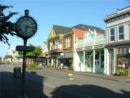 Old Town Eureka. Enjoy a stroll into yesteryear.