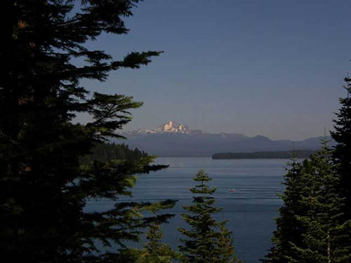 Take a day trip-Lake Almanor & Lassen NP