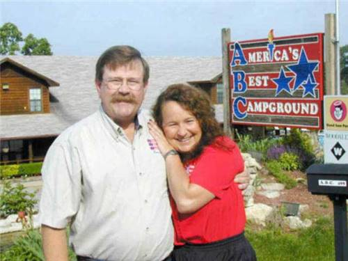 The Welcome Mat is always out. Your hosts - Jim & Sue Alkire