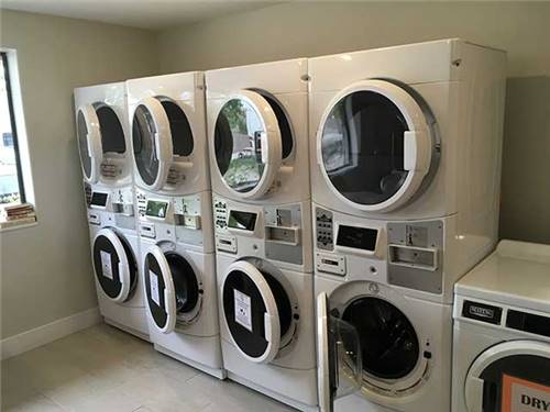 We have great laundry facilities.