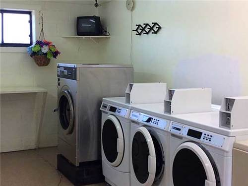 Need to catch up on some laundry?  Do it here!