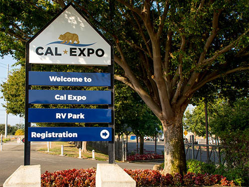 Welcome to the Cal Expo RV Park