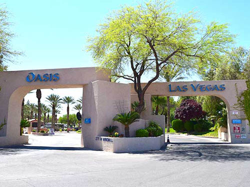 Welcome to the Oasis Las Vegas RV Resort