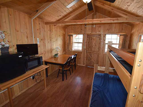 Relax in our spacious cabins