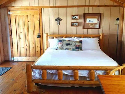 A fully furnished cabin awaits your family to check in & enjoy.