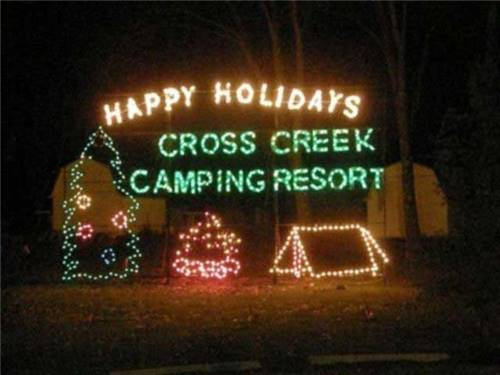 Enjoy the season at Cross Creek Camping Resort