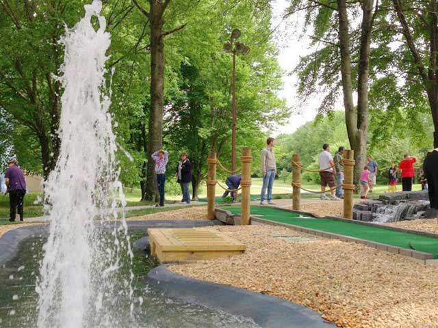 18-Hole Miniature Golf Course