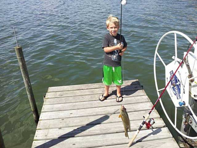 Fishing and catching fun for everyone