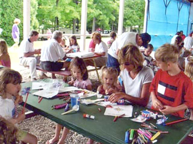 Craft time, good for young and youngsters
