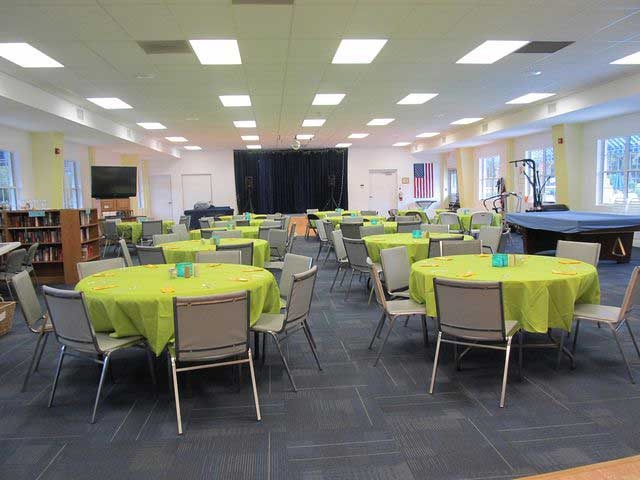 Great Clubhouse for events & socializing