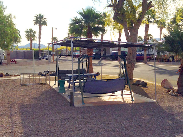 88 Shades RV Park in Quartzsite, AZ.