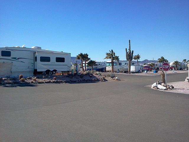 88 Shades RV Park in Quartzsite, AZ