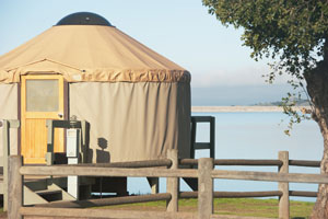 camping at lake cachuma, calif