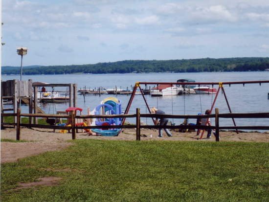 Playground at Camp Chautauqua