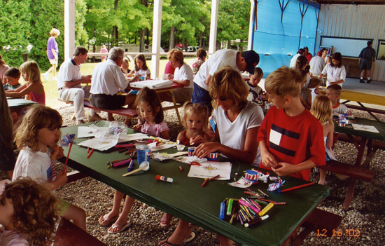 Activities at Camp Chautauqua