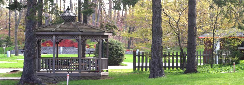 Gazebo at Woodland Park